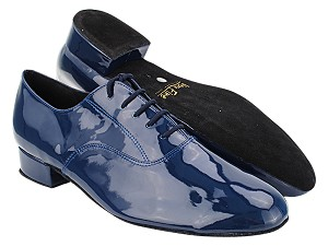 "919101 297 Dark Blue Patent with 1"" Standard Heel (2002) in the photo"