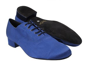 "919101 301 Dark Blue Satin with 1"" Standard Heel (2002) in the photo"