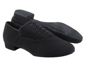 "C919101 Black Oxford Nubuck with 1"" Standard heel in the photo"
