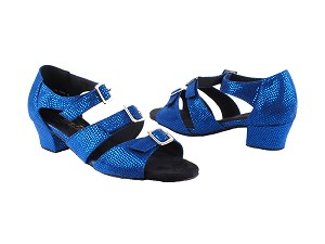 "1679LEDSS Blue with 1.5"" Medium Heel (2001)  in the photo"