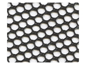 176 Black Mesh Fabric Swatch