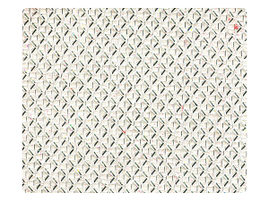 270 White Glitter Fabric Swatch
