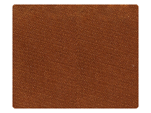 01 Dark Tan Satin Fabric Swatch
