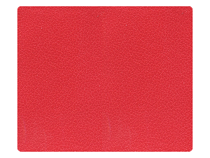 134 Red PU Fabric Swatch