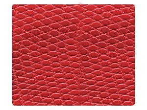 95 Snake Red PU Fabric Swatch