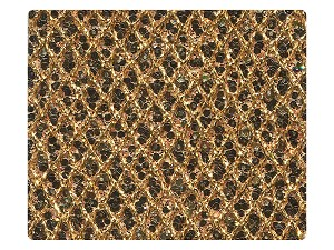 37 Gold Sparklenet Fabric Swatch