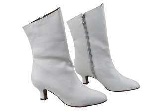 VFBoot PP205A Ankle Boot White Leather