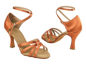 C1606 Dark Tan Satin