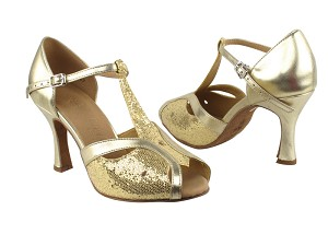 "SERA2800 Gold Scale & Light Gold with 3"" heel in the photo"