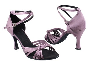 "SERA3780 Lavender Satin with 3"" heel in the photo"